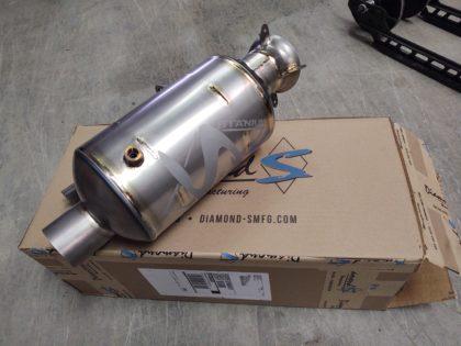Diamond S turbo silencer